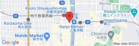 地図 旅館 加茂川館