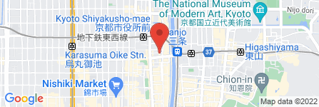 地図 京料理 藤や