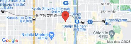 地図 志津屋三条店