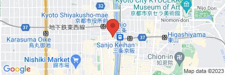 地図 モリタ屋 木屋町店
