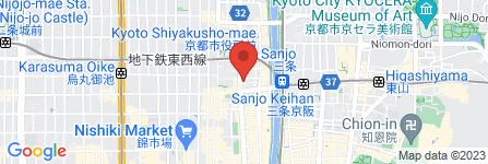 地図 マルコ株式会社 京都中央店