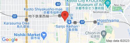 地図 BULAN BALI 京都リバーサイド SPA