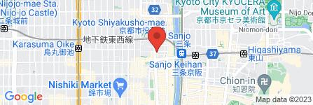 地図 ジュンク堂書店 京都朝日会館店
