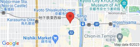 地図 Celeste 京都河原町店