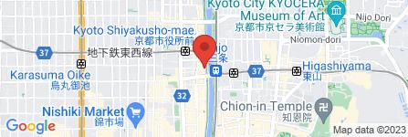 地図 京料理 箔