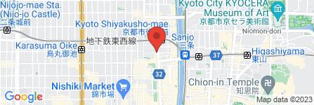 地図 セブンイレブン 京都河原町姉小路店
