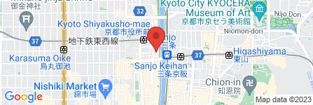 地図 京の焼肉処弘 木屋町店