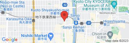 地図 チファジャ 河原町本店