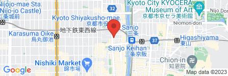 地図 カトリック河原町教会 事務局