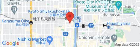 地図 京都東ロータリークラブ事務局