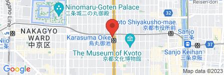 地図 ふれあい海鮮酒場 烏丸元気市場
