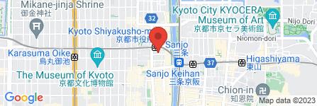 地図 京都カトリック信愛幼稚園