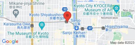 地図 プラスワン河原町御池店