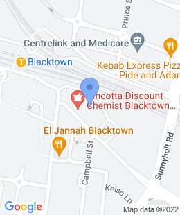 Sydney Dental Clinics location