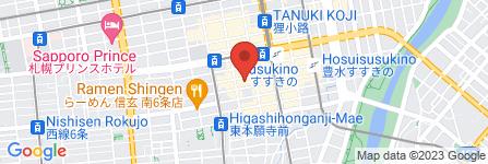 地図 札幌デビュー