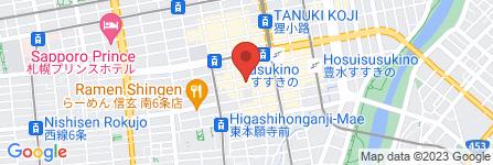 地図 恋花エステCLUB