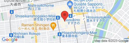 地図 プルプル倶楽部 札幌すすきの店