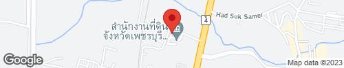 ++ ขายถูก ++ ที่ดิน 23 ไร่ 69 ตารางวา ติดถนนเพชรเกษม ชะอำ เพชรบุรี