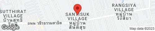 Sale: 4-storey townhome, Plus City Park Village, Sukhumvit 101/1, just 1.5 km from Sukhumvit Road.