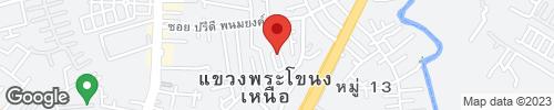 บ้านที่สุขุมวิท39 หมู่บ้านพร้อมมิตร เนื้อที่ 37 ตร.ว พื้นที่ใช้สอย 440 เมตร