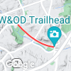 Four Mile Run Dr. (*not W&OD trail), George Mason Dr. to S. Shirlington Rd.