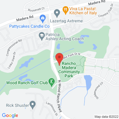 Rancho Madera Community Park map