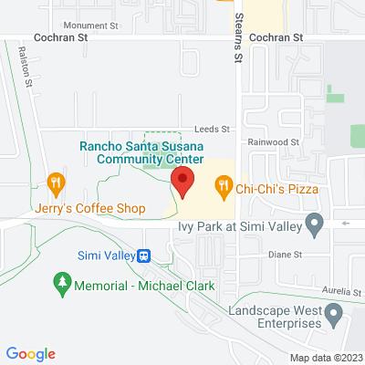 Rancho Santa Susana Community Park map
