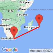 Port Alfred (AFD) - Mauritius (Sir Seewoosagur Ramgoolam Int, MRU)