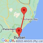 Durban (Durban International, DUR) - Ulundi (Prince Mangosuthu Buthelezi, ULD)