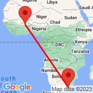 Ouagadougou (OUA) - Semongkong (SOK)