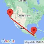 San Francisco (San Francisco International, SFO) - Tegucigalpa (Toncontin, TGU)