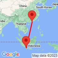 Jakarta (Soekarno-hatta Intl, JKT) - Shanzhou (SZO)