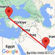 Istanbul (Ataturk, IST) - Muharraq (GBQ)
