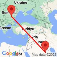 Bukurešt (Metropolitan Area, BUH) - Hafar Al-Batin (Hafr Albatin, HBT)