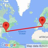 Bologna (Guglielmo Marconi, BLQ) - Birmingham (Birmingham-Shuttlesworth International Airport, BHM)