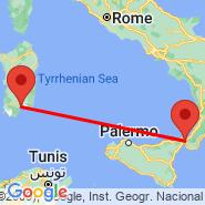 Cagliari (Elmas, CAG) - Messina (QME)