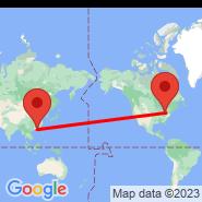 Hong Kong (Hong Kong International, HKG) - Pittsburgh (Pittsburgh International, PIT)