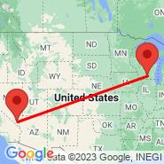 Las Vegas (Mc Carran Intl, LAS) - Madison (Dane County Regional, MSN)