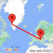 Budimpešta (Ferihegy, BUD) - Kangerlussuaq (SFJ)