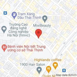 Bản đồ google map Chè, caramen... 162 Thái Thịnh