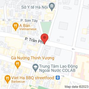 Bản đồ google map Bún đậu mắm tôm