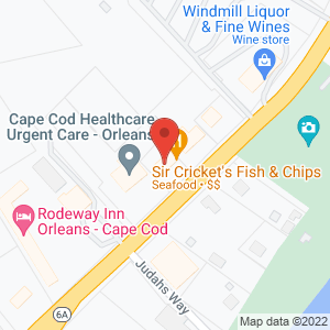 Sir Cricket Fish and Chips - Map