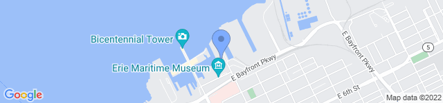 Bayfront Maritime Center is located at  40 Holland Street, Erie, PA 16507