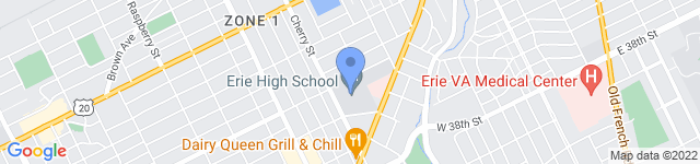 Americans for the Competitive Enterprise System, Inc. is located at  Central High School, 3325 Cherry Street, Erie, PA 16508