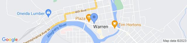 Northwest Bank Corporate is located at 100 Liberty Street, Warren, Pennsylvania 16365