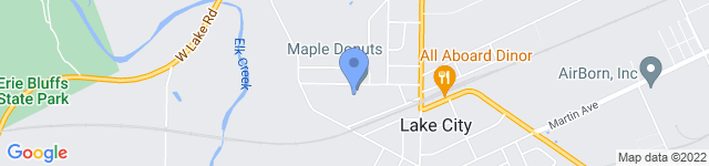 Maple Donuts is located at 10307 Hall Avenue, Lake City, PA 16423 0