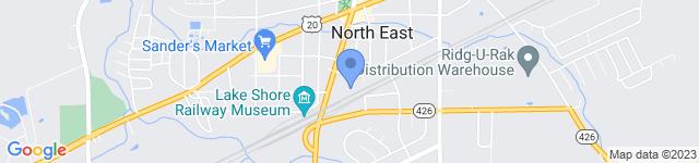 Ridg-U-Rak, Inc is located at 120 South Lake Street, North East, PA 16428