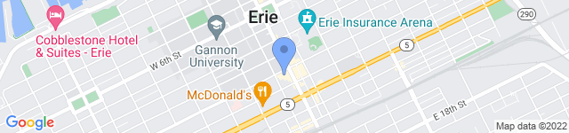 Erie Playhouse is located at 13 West 10th Street, Erie, PA 16501-1401