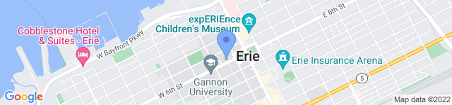 Erie County Government  is located at 140 West Sixth Street, Erie, PA 16501 0