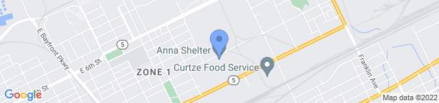 ANNA Shelter is located at 1555 East 10th Street, Erie, PA 16511
